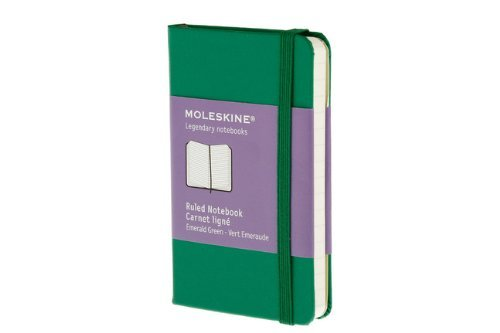 Moleskine Classic Notebook, Extra Small, Ruled, Oxide Green, Hard Cover (2.5 x 4) by Moleskine (July 20,2011)