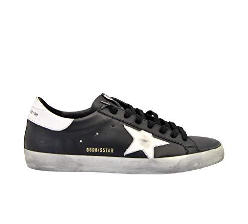 Golden Goose Sneakers Superstar Schwarz Stern Weiß, Mehrfarbig - schwarz - Größe: 42 EU