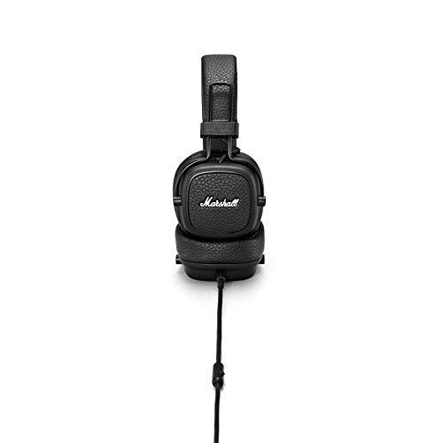 Marshall Major III On-Ear Headphones (Black) Image 3