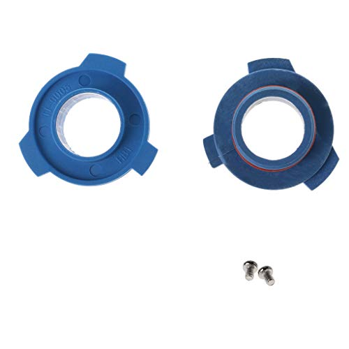 WDTong - Adattatore base per lampadina LED per fari auto, confezione da 2 pezzi, 880/HB4/HB3/H11/H7/H4/H3/H1