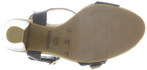 Black Via Leder Via 21182605 Sandaletten Uno Uno black 0wSS5zqX