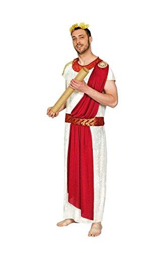 r römischer Senator zu Karneval Fasching Gr.54/56 (Römischer Senator Toga)