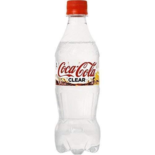 Coca-Cola Clear/Limited Edition aus Japan - 1 Flasche 500 ml - letzte Flaschen