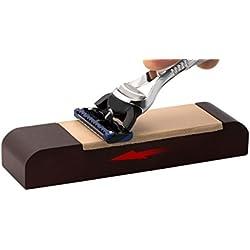 Affûteuse de lames de rasoir EUREKA avec le meilleur cuir pelable allemand - 10 ans de garantie!