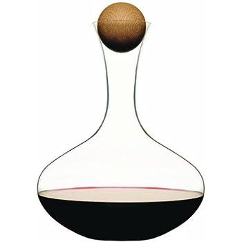 Sagaform 0001095 Wine Carafe with Oak Stopper