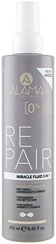 Alama Professional REPAIR Miracle Fluid 5in1 Ristrutturante per Capelli Danneggiati e Sfibrati 250 ml