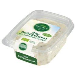 Grünhof Delikatess-Geflügelsalat inkl. Kühlverpackung (125 g) - Bio