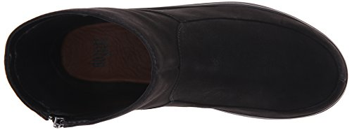 FitFlop - Loaff Shorty Zip, Stivaletti Donna Nero (Nero)