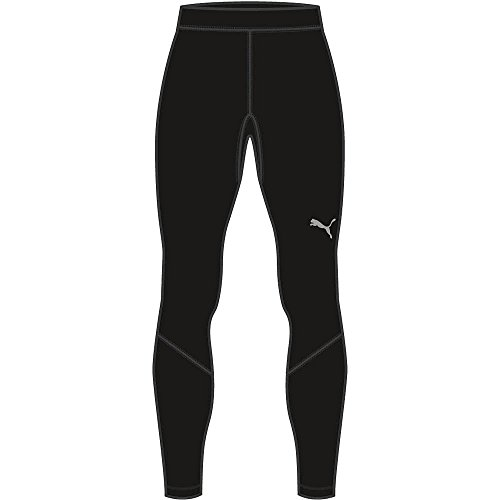 Puma Liga Baselayer Long Pants, Unisex niños, Black, 152