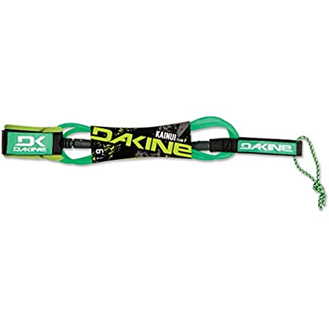 2016 Dakine Kainui Team 6ft Surf Leash Neon Green 06200971 - 6' Guinzaglio