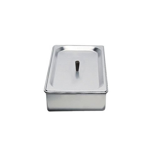 BroilKing SPL-3P 1/3 Size 2.6 qt. Chafing Pan & Plastic Lid by Broil King - Broil King-pan