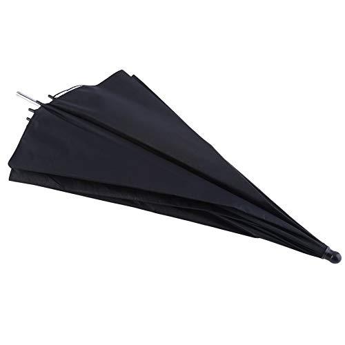Portable 83cm 33 inch Studio Video Flash Light Grained Umbrella Reflective Reflector Black Sliver Photo Photography Umbrellas Photo Umbrella Light Studio