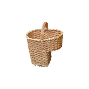 Ordinaire Buff Willow Wicker Stair Step Basket L 42 X W 27 X H 38 Cm Step