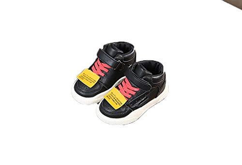 er Turnschuhe Herbst koreanische Mode Jungen und Mädchen Freizeitschuhe Schuhe Winterschuhe Kinder (Farbe : A, größe : 21) ()