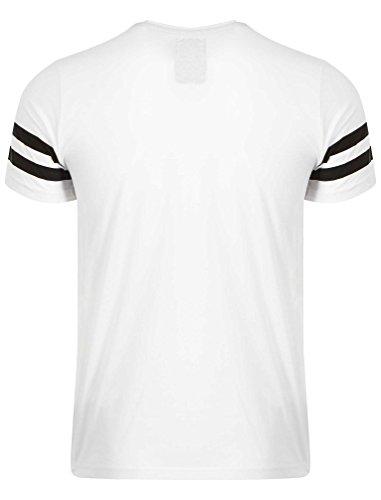 Dissident Herren Girlboard T-Shirt Grafik Druck Größe S- XL Weiß