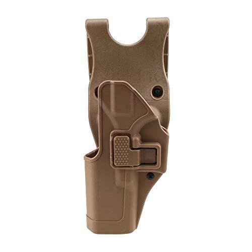 Gexgune Taktische Glock militärische Concealment Linke Hand Paddel Taille Gürtel Pistole Pistole (4 Modelle 2 Farben optional) -