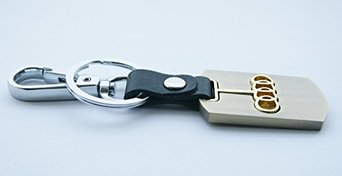 3d-gold-finish-metal-car-key-chain-keyring-with-audi