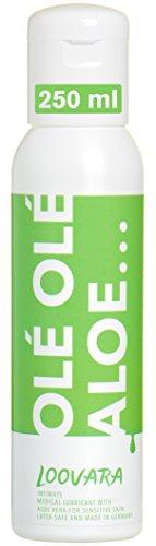 Loovara Gleitgel Sensitiv (250 ml) auf Wasserbasis, mit Aloe Vera für sensible Haut