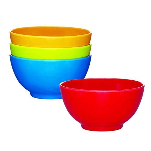 Guilty Gadgets  - Juego de Cuencos para Sopa (6-400 ML), diseño de Oso pétalo, Ideal para Fiestas y niños