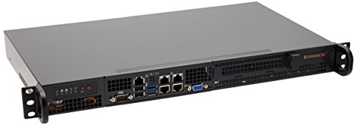 Supermicro SYS-5018A-FTN4 Server-Barebone (Super A1SRi-2758F, Sockel FCBGA1283, Intel Atom C2758, bis zu 64GB DDR3-Speicher, 2x SATA III, 4x USB 3.0)