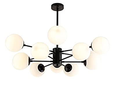 Chandelier Nordic Magic Beans Modern Iron Lamp Molecular American Light Glass Balls Magic Beans Molecular
