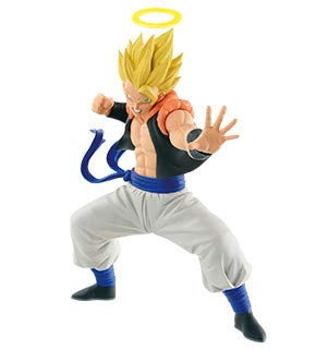 Banpresto. Dragon Ball Z: Fukkatsu no Fusion!! Gokuu to Vegeta Figure Gogeta SSJ Figure Colosseum SCultures Figure INMEDIATAMENTE Disponible