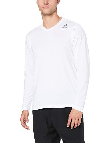 adidas Herren Freelift Prime Langarm T-Shirt, White, M -