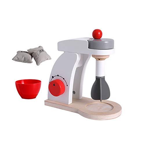 Kostüm Kleinkind Food - TrifyCore Holz Küche Food Mixer Spielzeug Spielend Köstliches Mighty Mixer Spielen Küchenzubehör für Kleinkinder Kostüm Rollenspiele Schule Klassenzimmer pädagogisches Spielzeug 1Set