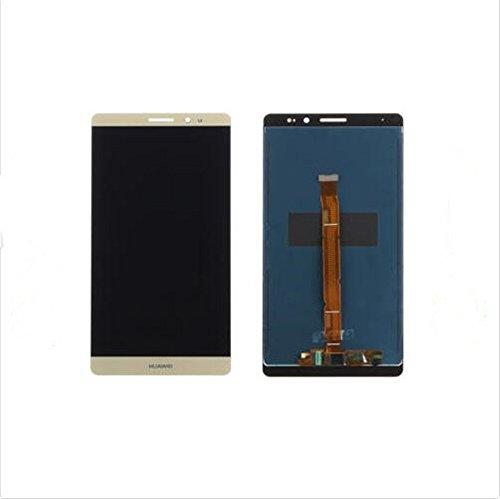 for huawei Huawei Mate 8 Display im Komplettset LCD Ersatz Für Touchscreen Glas Reparatur (Golden) -