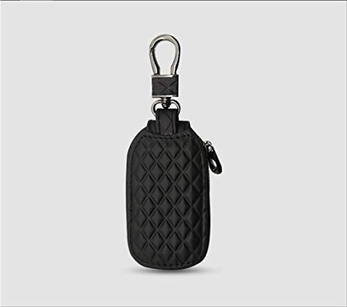 Auto Schlüsseltasche Männer und Frauen universal Reißverschluss Leder Auto Fernbedienung FallSchlüsselkasten Schlüsselmappe -