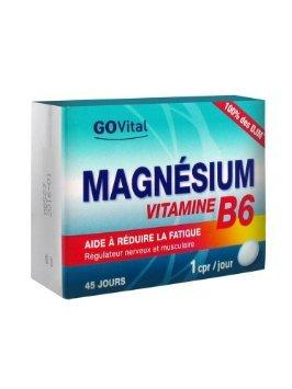 Govital Magnesium Vitamin B6 45 Tablets by Govital