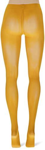 FALKE Damen Strumpfhosen Matt Deluxe 30 DEN, Transparente, Matt, 1 Stück, Orange (Mandarin 8216), Größe: L - 4