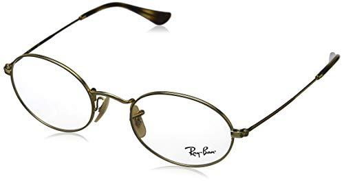 Ray-Ban Unisex-Erwachsene 0RX3547V Brillengestelle, Mehrfarbig (Arista), 51