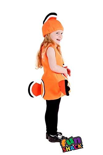 Fun Shack Kostüm Clown Fisch Kostüm Baby Kleinkind Alter 1-2 Jahre