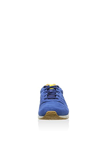 Asics Shaw Runner, Sneakers basses mixte adulte Blanc (estate blue)