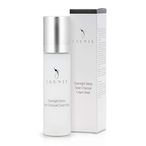 Nachtcreme-Maske für Damen - 2in1 – reichhaltige Crememaske mit Detox-Effekt für alle Hauttypen geeignet – 50ml Gesichtsmaske von Jaunty
