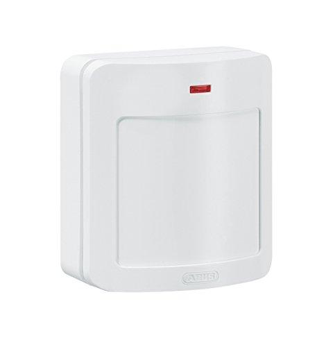 ABUS FUBW50010Passive Infrared (PIR) Sensor White Motion Detector–Motion Rauchmelder (Passive Infrared (PIR) Sensor, Lithium, AA, 140g,-10–55°C, White)