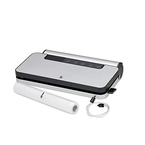 WMF LONO - Envasadora al vacío, cortador de film integrado, resistente desgarros y sabor neutro