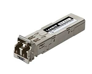 Cisco MGBLX1 - Small Business MGBLX1 - SFP (mini-GBIC) transceiver module - 1000Base-LX - LC single mode - up to 10 km - 1310 nm