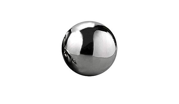 Sfere in acciaio inox lucido 3/pezzi da 1/x diametro 8/cm 13/cm 18/cm