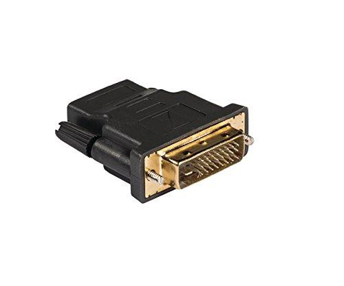 Eurosell High End High-Speed-HDMI Adapter HDMI-Buchse - DVI-D 24+1p Stecker Full HD HDTV vergoldet