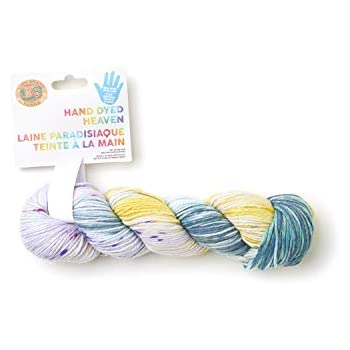 Showstopper Lion Brand Yarn 186-208 Hand Dyed Heaven Yarn
