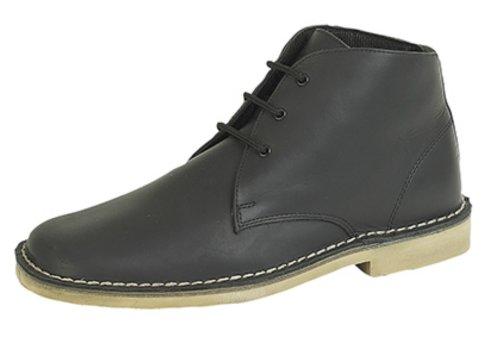 Roamer ,  Unisex - Erwachsene Desert Boots Waxy Black