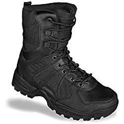 Mil-Tec - Botas para hombre negro negro, color negro, talla 44