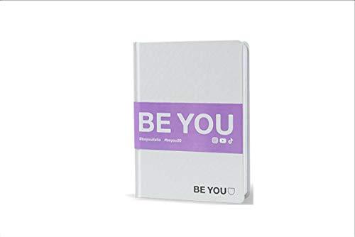 BE YOU. Diario Agenda Scuola Standard Bianco Datato 2019/2020 12 Mesi 13x18 cm + Penna Colorata Omaggio