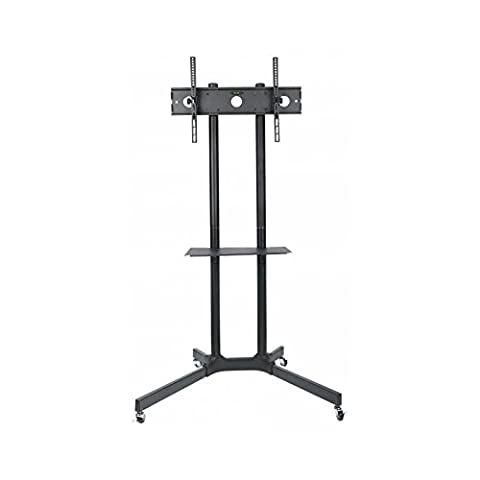Techly Floor Stand with Shelf Trolley LCD/LED/Plasma TV (30-65 ICA-TR6)