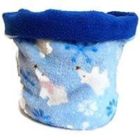Echarpe Tube Ours Blancs Bleu Ciel Snood Enfant Hiver Tour de Cou Garçon  Fille Cache- e8892a0e824