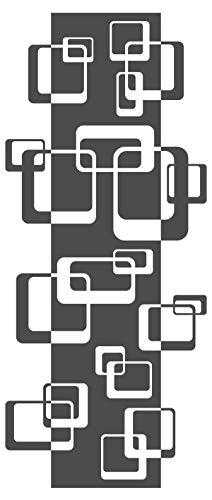 dekodino Wandtattoo Retro Cubes Muster 60er 70er Wanddeko Banner Decke Wandbanner Deko - Muster Für Cubes