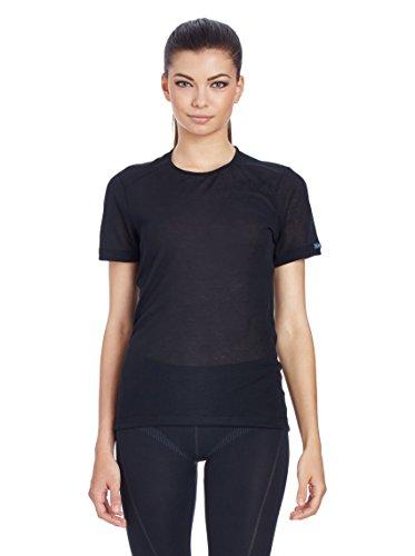 Odlo Cubic T-Shirt manches courtes Femme Noir (Schwarz)