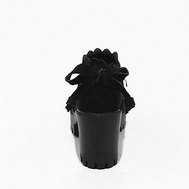 AIURBAG Da donna Scarpe Materiali personalizzati Autunno Inverno Stivali alla cowboy Stivali da neve Stivali Stivaletti alla caviglia Anfibi green